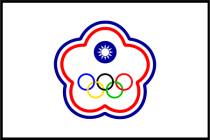 Image result for chinese taipei flag