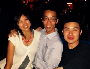 Keep Taiwan Free directors, from left to right, of 2014 (missing Eric), 2013, and 2012.