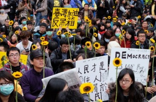 TAIWAN-CHINA-POLITICS-TRADE-PROTEST