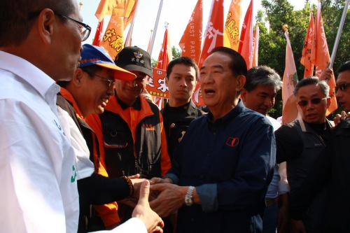 Soong campaigning 2015