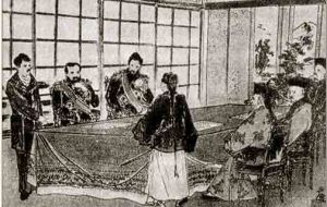 Signing of Treaty of Shimonoseki