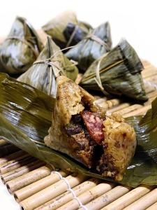 Glutinous Rice Rice Dumpling Chinese 粽子 Tradition